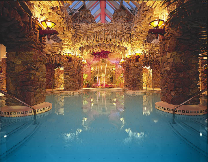 The spa the grove park innsider for Indoor pool